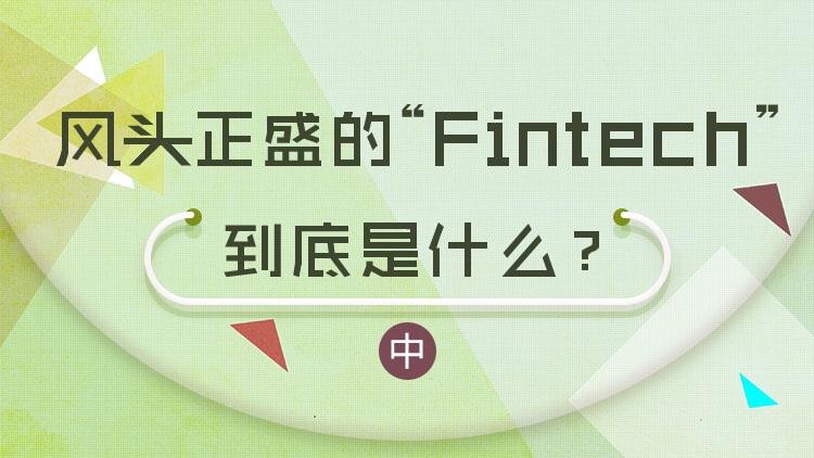 风头正盛的Fintech到底是什么?(中)